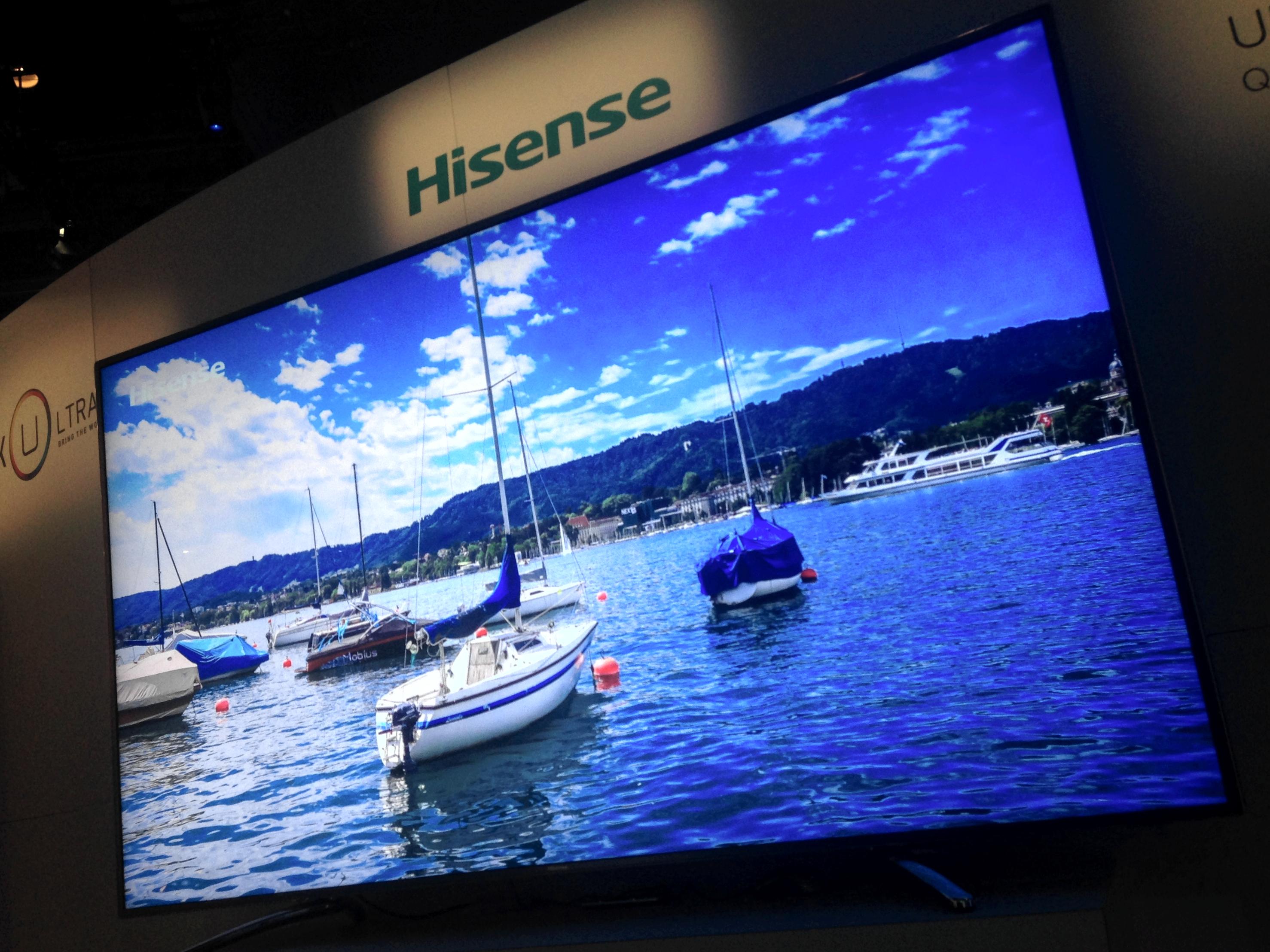 """CES 2014 85"""" Hisense QDTV"""